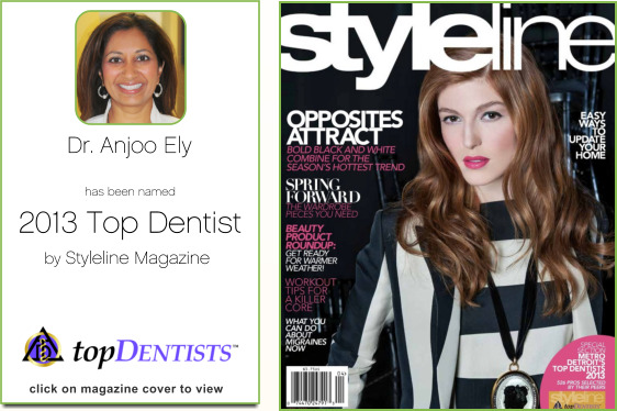 Dr. Anjoo Ely, Best dentist 2013